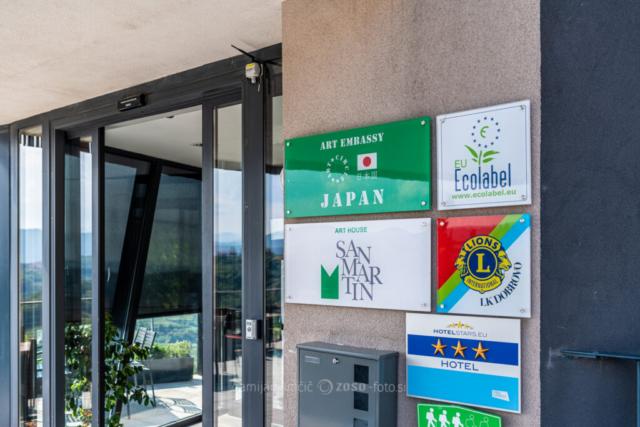 Japonska - Hotel San Martin